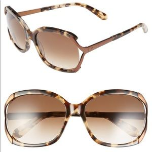 Kate Spade Laurie Sunglasses Turtle Brown Color